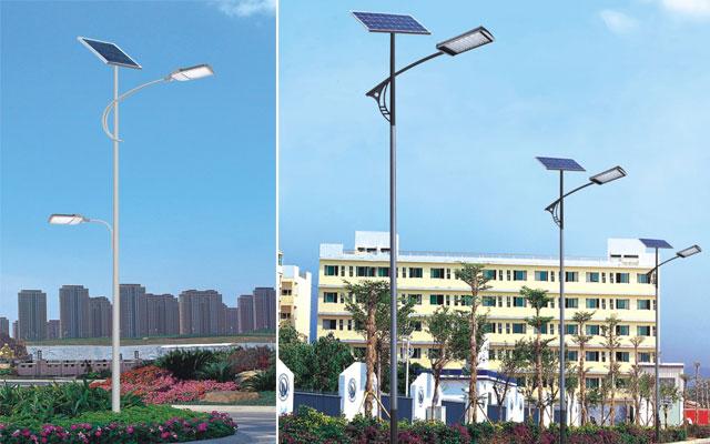 随着世界各地普遍的使用太阳能led路灯,而太阳能led路灯的寿命是最用户关注的问题,什么部件容易出问题,蓄电池需要多久要更换,这些都是客户最关注的问题,而太阳能led路灯的寿命到底有多长呢,由太阳能led路灯厂家华可路灯来为你解答。   太阳能led路灯是一个独立性的自行发电照明系统,不用连接电网传导的电,白天太阳能电池板把光能转化为电能存储在蓄电池里,到了晚上蓄电池里的电能自行供电给光源照明,是一个典型的发电放电的智能系统。能做到这一点的就是太阳能电池板,他是由纯硅板为主要材料制造的,寿命很长,至少20