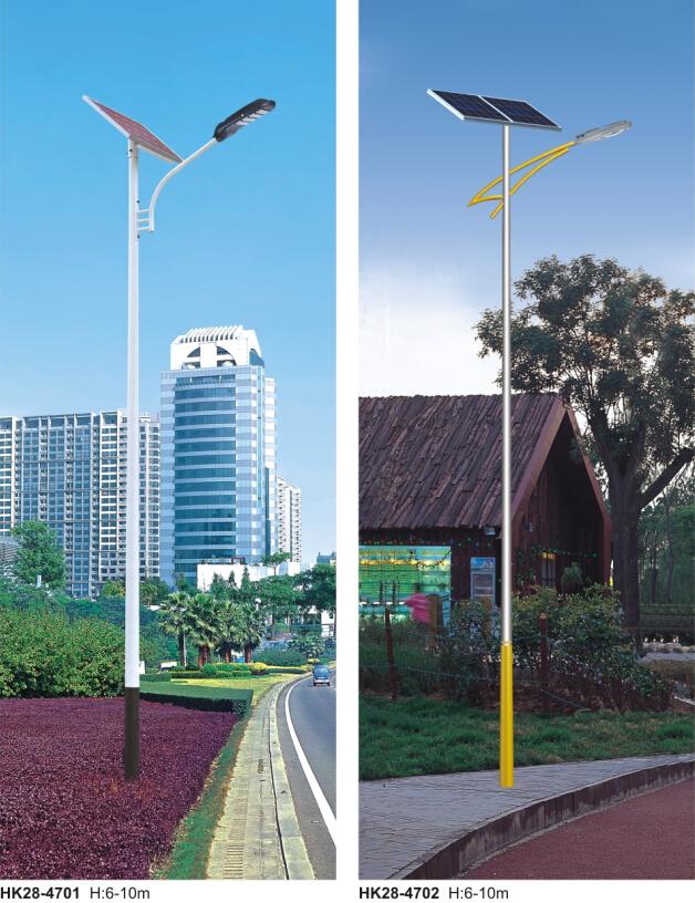 太阳能路灯led光源采取串联模式还是并联模式?