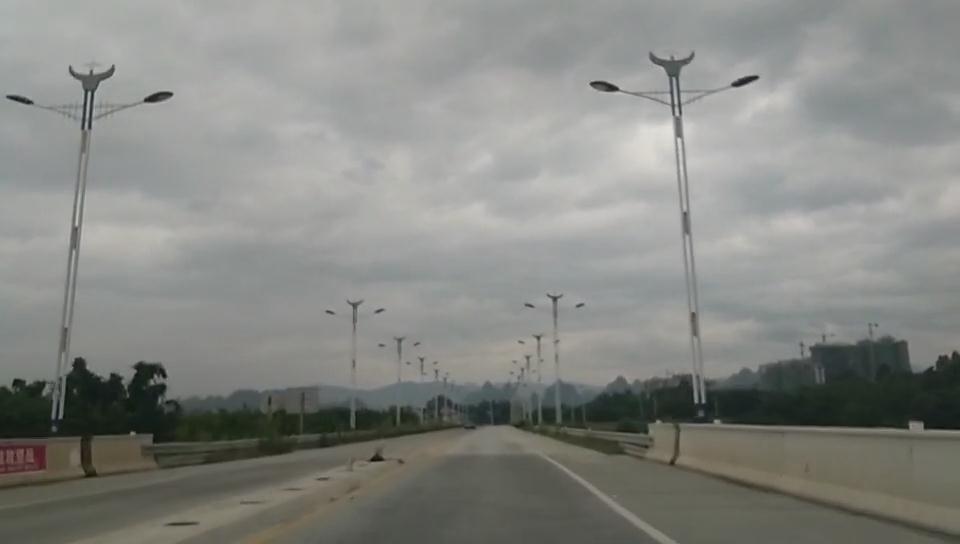 福建福州led景观路灯工程案例展示