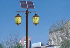 华可路灯解析太阳能庭院灯六大优势