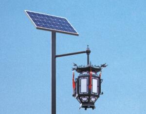 华可太阳能庭院灯配置有什么优势?