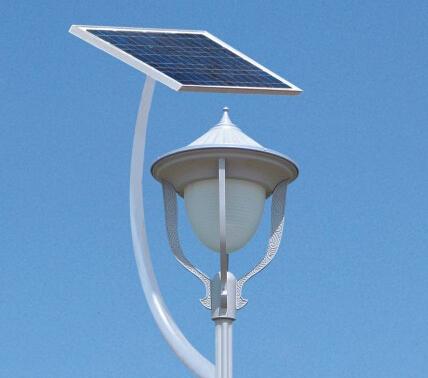 华可讲解:太阳能庭院灯的材质分析