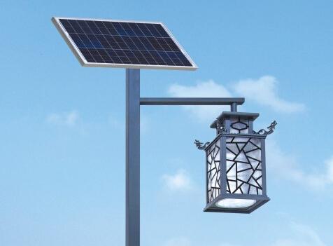 太阳能庭院灯逐渐迎合市场发展的趋势