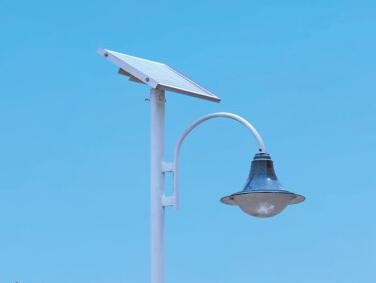 太阳能庭院灯立杆选材方面注意什么?