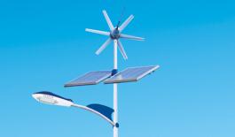 新闻:风光互补太阳能路灯主要有什么功能特点!