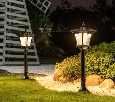 为什么太阳能草坪灯要使用led光源