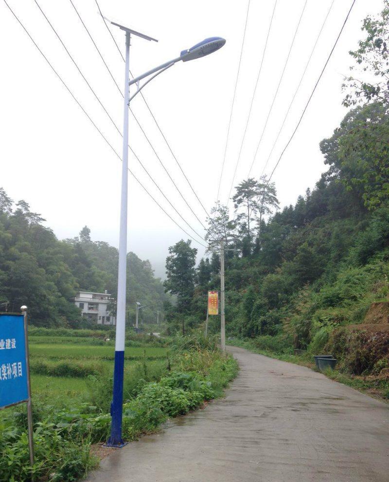 新闻:新农村太阳能路灯的应用