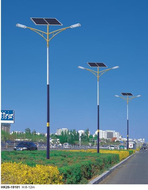 新闻:太阳能LED照明灯具未来发展潜力