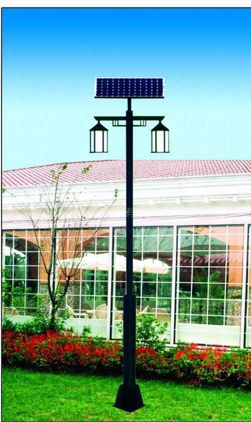 新闻:太阳能庭院灯能让公园变的诗情画意