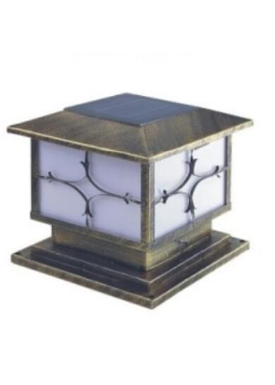 led太阳能柱头灯HK15-38812