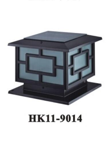 太阳能led柱头灯HK11-9014