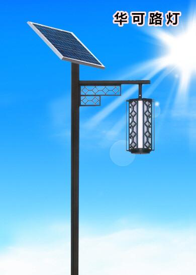小区新款led太阳能庭院灯HK26-24502