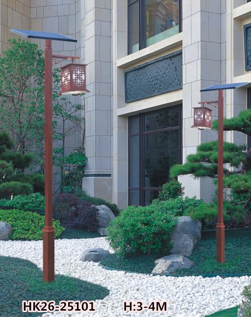 广场led太阳能庭院灯HK26-25101