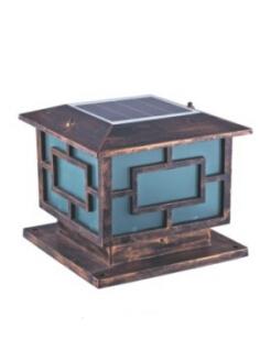 太阳能柱头灯HK15-38813
