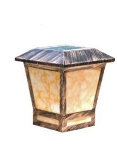 太阳能柱头灯HK15-38808