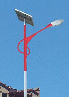 新风格led太阳能路灯hk26-4201