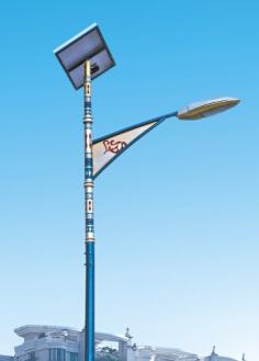 华可新品太阳能led路灯hk26-3802