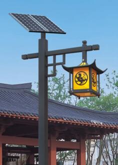 新款小区太阳能led庭院灯hk26-23701