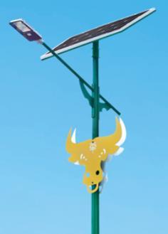 民族特色太阳能路灯HK30-3801