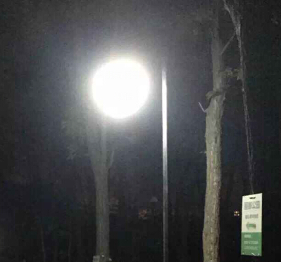 【led庭院灯案例】湖北省宜昌市公园照明亮化工程