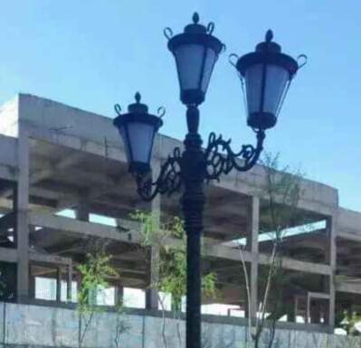 【庭院灯案例】江西省新余市建设小区亮化工程