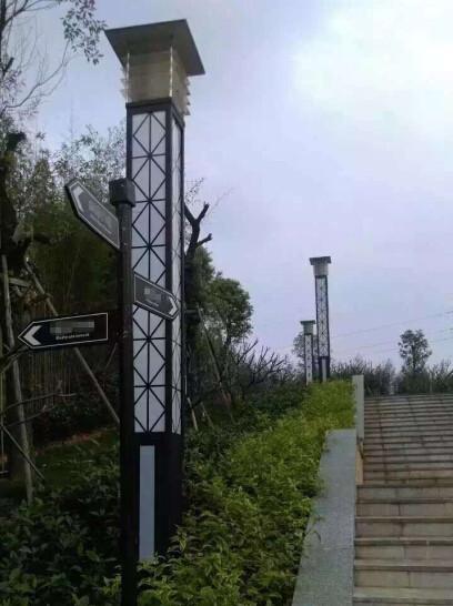 【太阳能led景观灯案例】云南省临沧市耿马县广场景观亮化工程