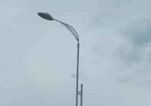 【led路灯案例】广西省河池市道路亮化工程