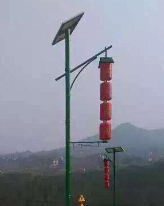 【景观led太阳能路灯案例】广东省茂名市建设道路亮化工程