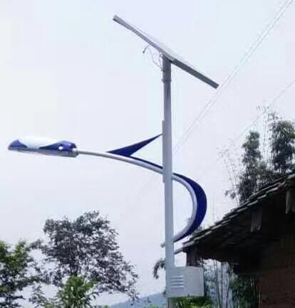 【太阳能路灯案例】四川省凉山州农村道路亮化工程