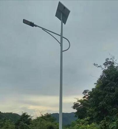 【农村太阳能路灯案例】山西太原市农村道路亮化工程