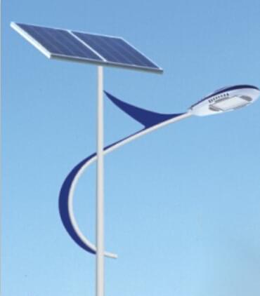 华可恭贺贵州农村太阳能路灯工程安装完毕