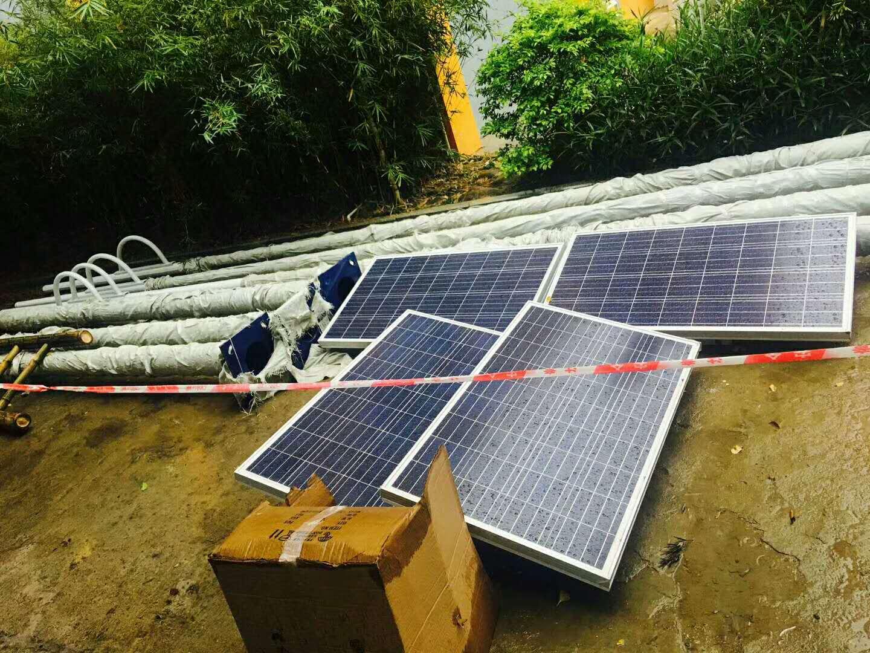 华可工程案例:60套小区太阳能路灯在山西大同进驻!