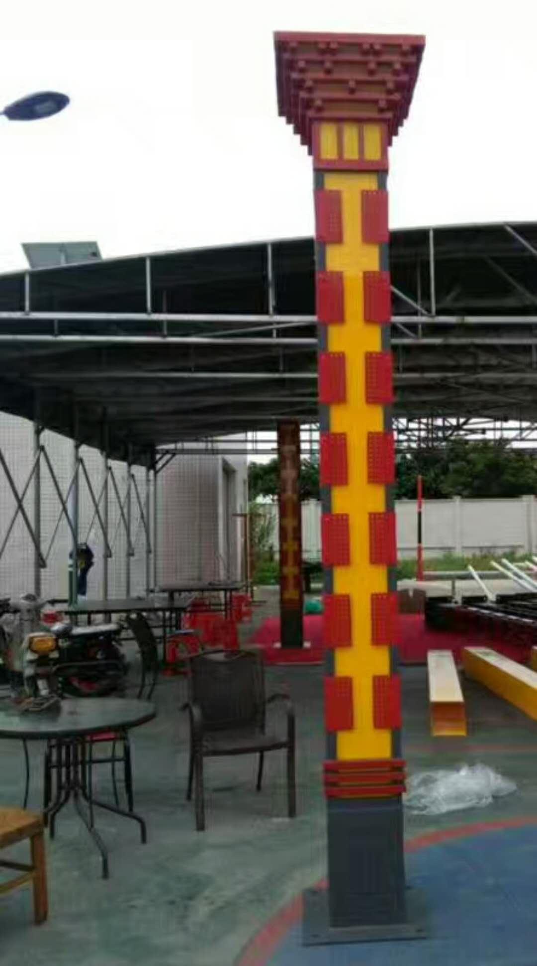 华可案例:4米30套广西led景观灯准备发货!