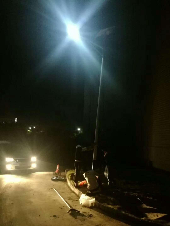 【华可案例】安徽合肥太阳能路灯工程案例