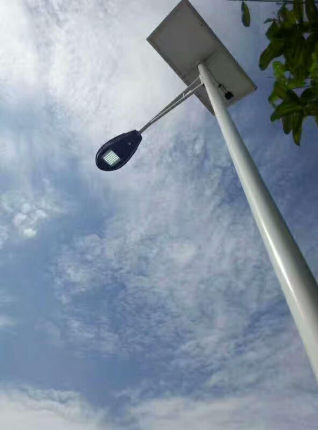 【华可案例】海南琼海农村太阳能路灯道路亮化工程