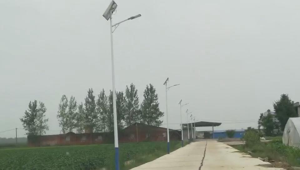 广西贺州led太阳能路灯农村工程项目