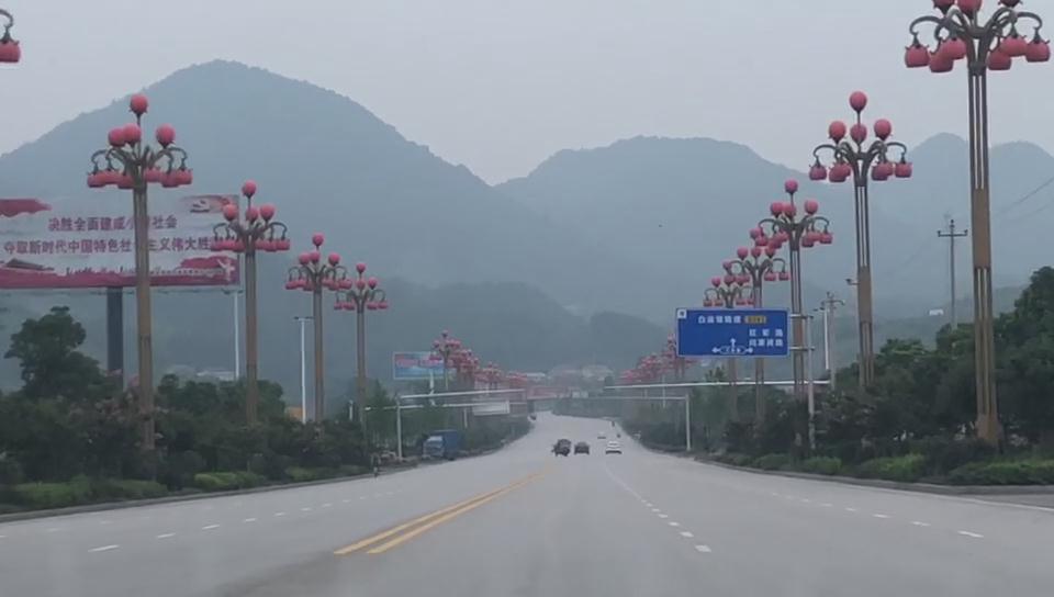 福建南平led中华灯景观工程案例展示